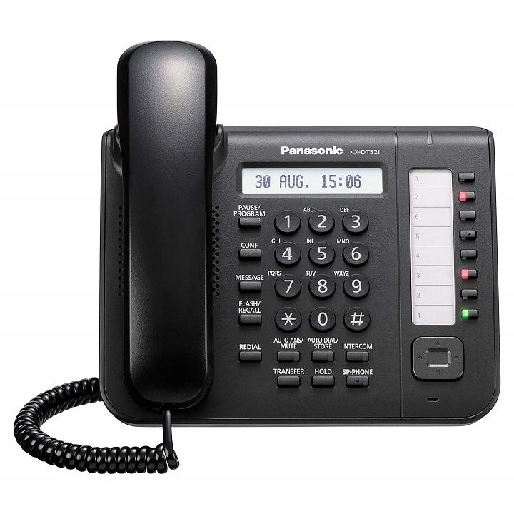 טלפון דיגיטלי דגם KX-DT521