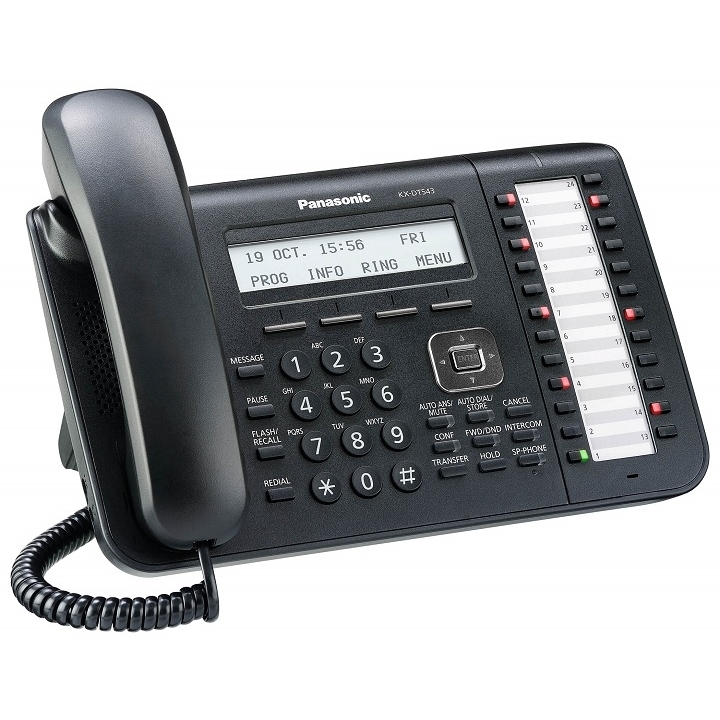 טלפון דיגיטלי דגם KX-DT543